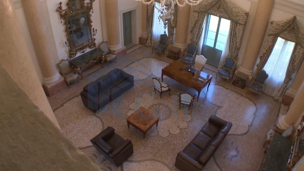 salone  villa d'epoca Venezia