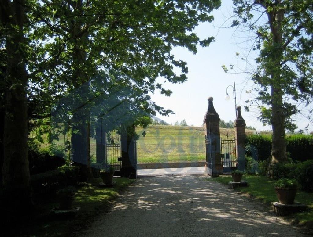 cancello sud villa epoca a boara pisani