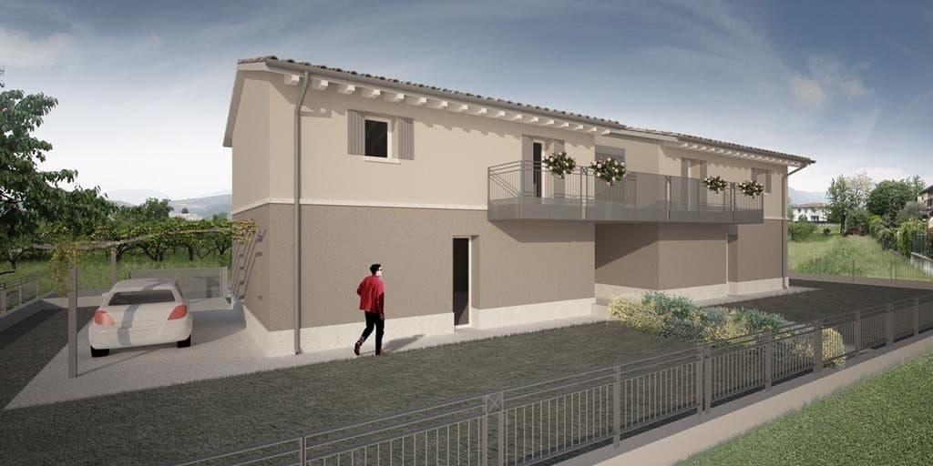 Villa bifamigliare in costruzione con terrazzo e giardino  Pescantina - 2