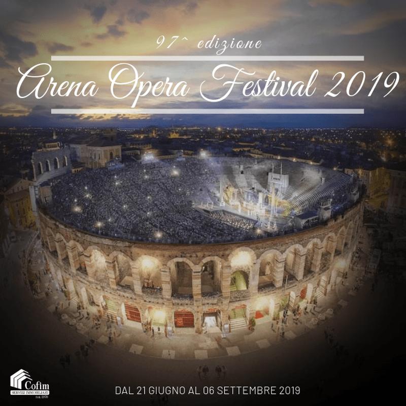 Arena Opera Festival 2019: 97^ edizione