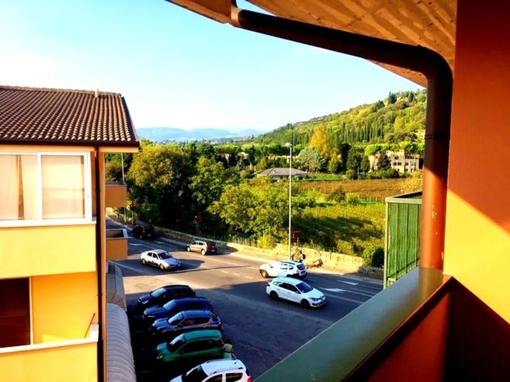 Appartamento quadrilocale in AFFITTO, ultimo piano panoramico con TERRAZZO  Verona (Parona) - 4