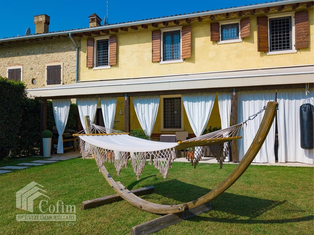 Cottage in an historic court with panoramic view  Lazise - 3