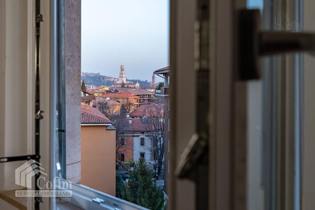 Appartamento trilocale in AFFITTO piano alto semi arredato V.ze Ospedale  Verona (Borgo Trento) - 3