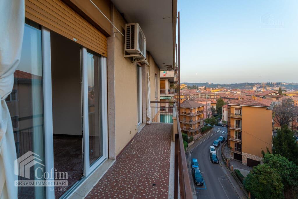 Appartamento trilocale in AFFITTO piano alto semi arredato V.ze Ospedale  Verona (Borgo Trento) - 9