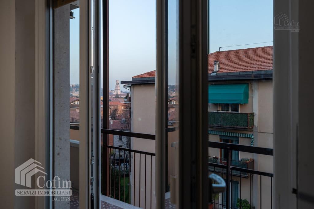 Appartamento trilocale in AFFITTO piano alto semi arredato V.ze Ospedale  Verona (Borgo Trento) - 13