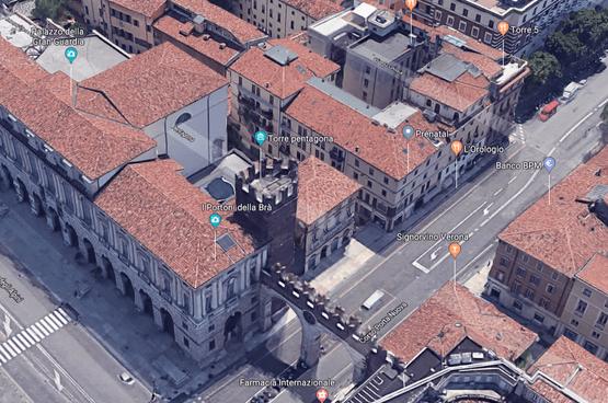 Appartamento bilocale indipendente ARREDATO elegante in AFFITTO v.ze PIAZZA BRA  Verona (Cittadella)